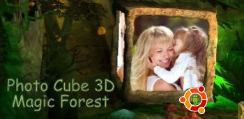 Скачать Photo Cube 3D Magic Forest