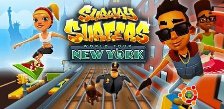 Скачать Subway Surfers New York Андроид