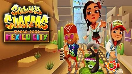 Скачать Subway Surfers Mexico City