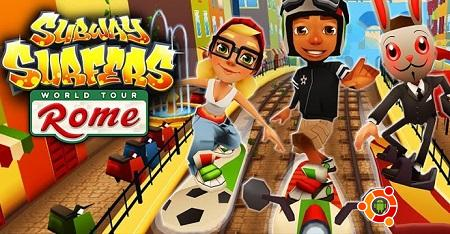 Скачать Subway Surfers rome v1.22.0 на андроид