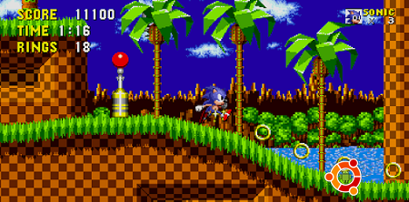 Скачать Sonic The Hedgehog на андроид