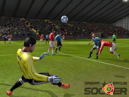 Игра Dream League Soccer - футбол на андроид