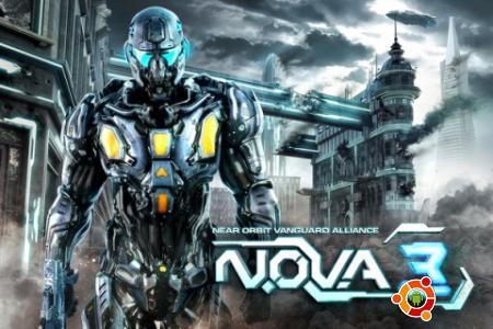 Игра N.O.V.A. 3 - Near Orbit Vanguard Alliance для андроид