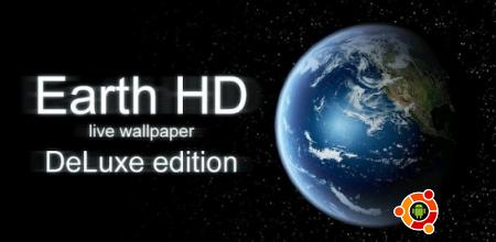 Живые обои Earth HD Deluxe Edition на андроид