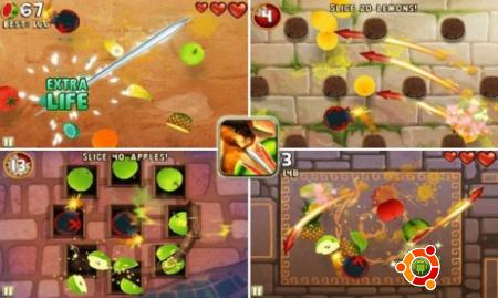 Игра Fruit Ninja: Puss in Boots на андроид