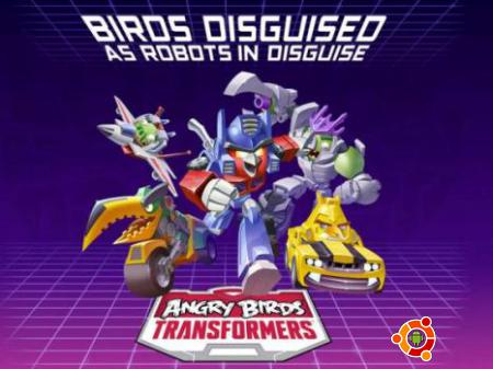 Игра Angry Birds Transformers на android