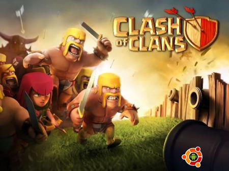 Игра Clash of Clans на андроид