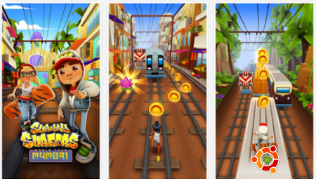 Игра Subway Surfers Mumbai на андроид