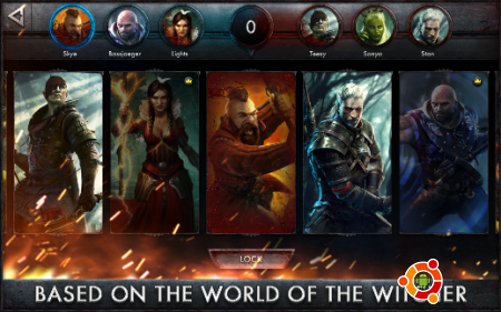 Игра The Witcher Battle Arena на Android