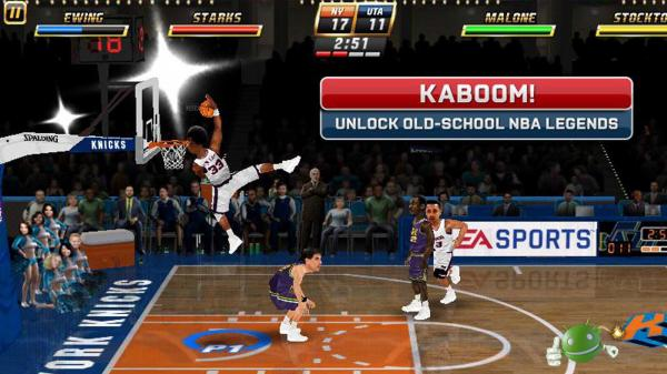 Игра NBA JAM by EA SPORTS на Android