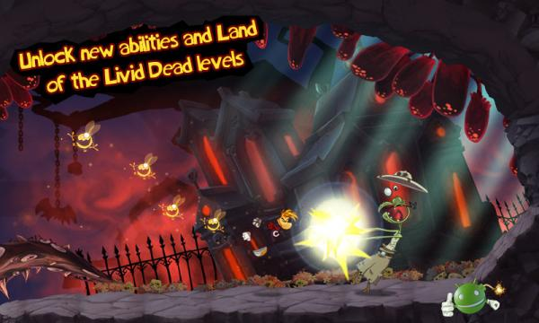 Игра Rayman Jungle Run на Android