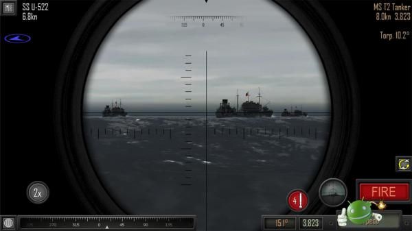 Игра Atlantic Fleet на Android